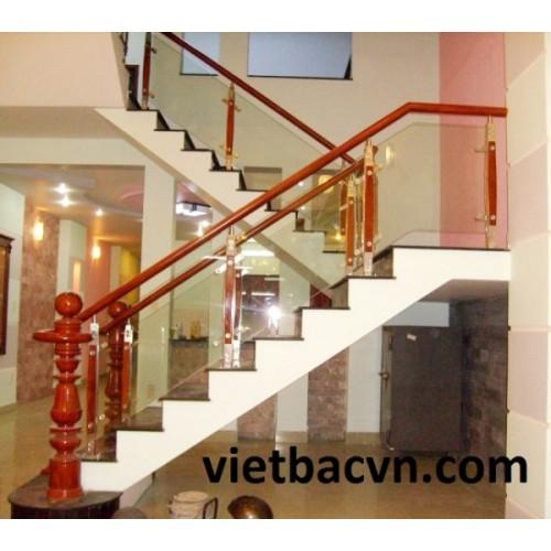 Cầu thang kính mẫu VB-162